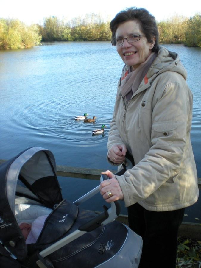 At the Lake with Nanny Fran